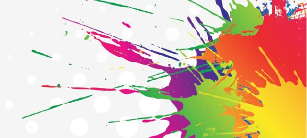 free-vector-color-ink-vector_006855_Ink Splatter Background3
